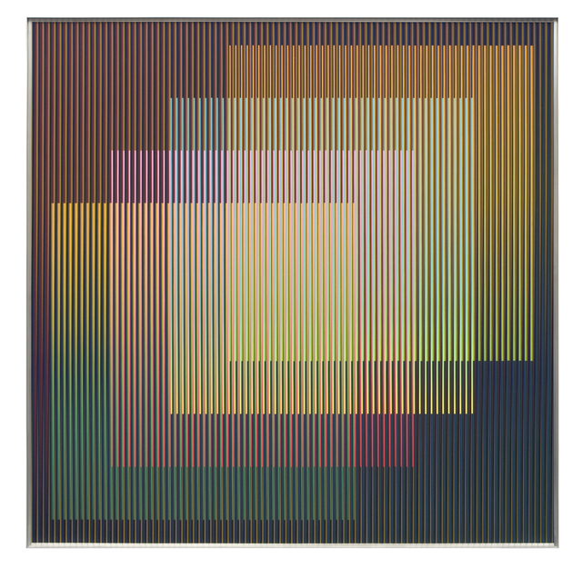 , 'chromointerference,' 2014, Galerie Denise René