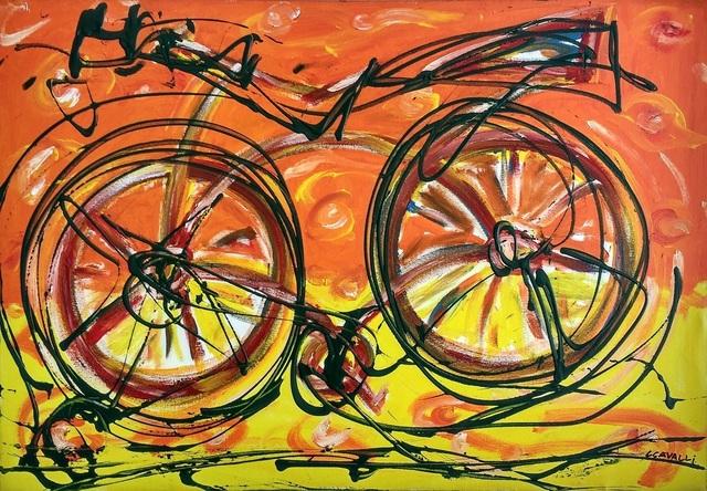 , 'Bike Line,' , Inn Gallery