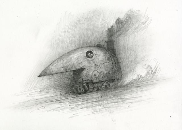 Shaun Tan, 'Crow Train', 2017, Beinart Gallery