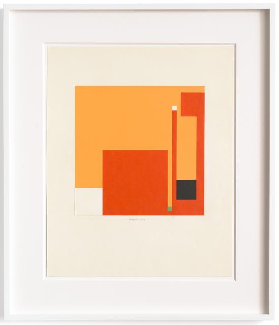 Bruno Munari, 'Negativo-Positivo', 1967, Mixed Media, Mixed technique and collage on cardboard, Repetto Gallery