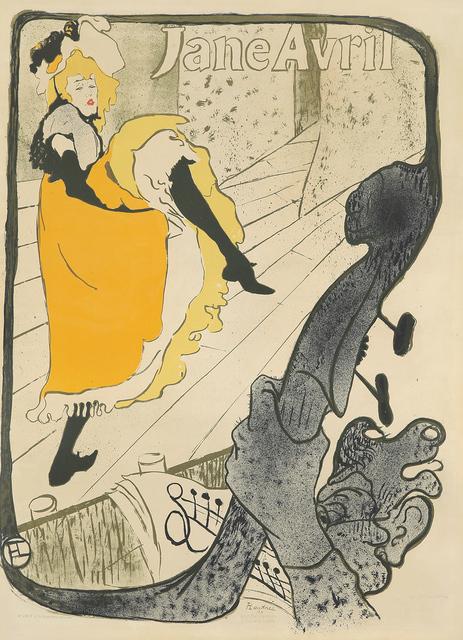 , 'Jane Avril,' 1893, Rennert's Gallery