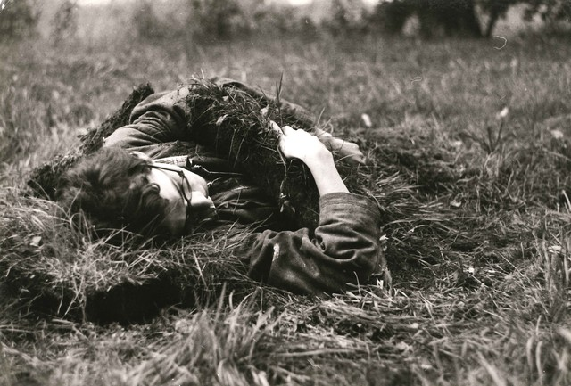 , 'Attempt to Sleep, 13x20 cm each, silver print,' 1982, Alberto Torri