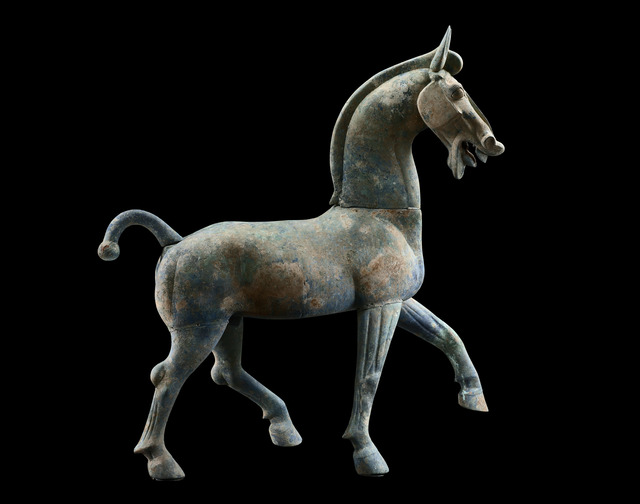 , 'Large Bronze Horse,' 25 - 220, Gagosian Gallery