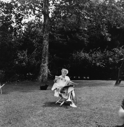 , 'Eleanor Roosevelt, Hyde Park, New York,' 1956, Staley-Wise Gallery