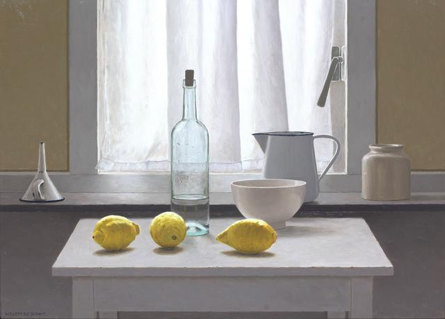 , 'Still life in backlight with 3 lemons,' 2018, Smelik & Stokking Galleries