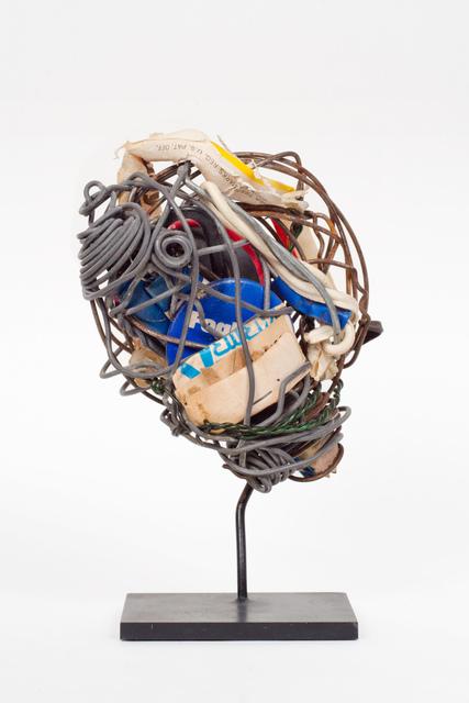 , 'Untitled (button, straw & matches),' 1970-1975, Fleisher/Ollman