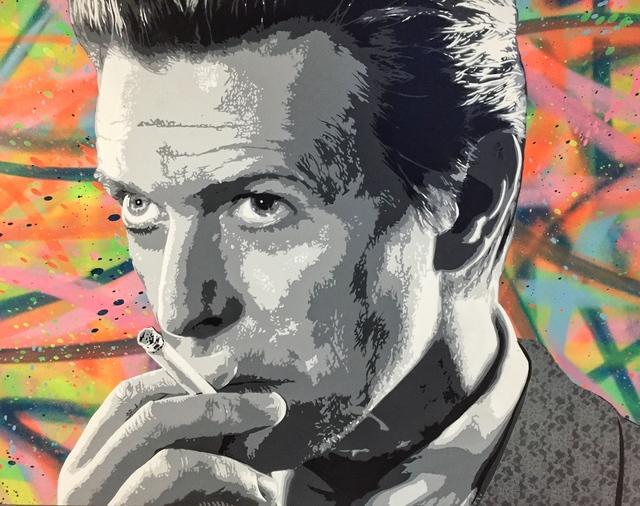 , 'David Bowie,' 2016, Imitate Modern