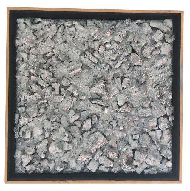 , 'Silver Charcoal Study II,' 2015, Joshua Tree Art Gallery