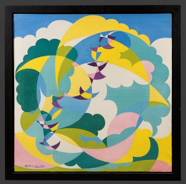 , 'Paesaggio + Volo di Rondini (Landscape and Swallows in Flight),' ca. 1919, Trinity House Paintings