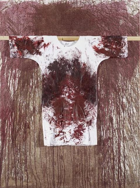 , 'Schüttbild mit Hemd,' 2011, Lukas Feichtner Gallery