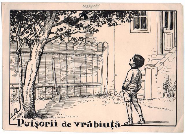 , 'Puisorii de vrabiuta,' 1922-1927, Nasui Collection & Gallery