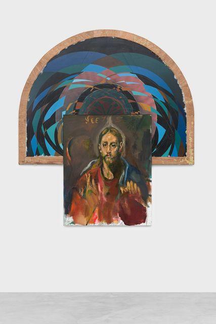 , 'Web of guilt, gesture of big spending,' 2018, Almine Rech Gallery