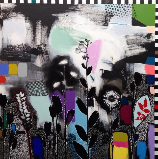 , 'Dreamscape (Wildflowers) I,' 2016, Rebecca Hossack Art Gallery