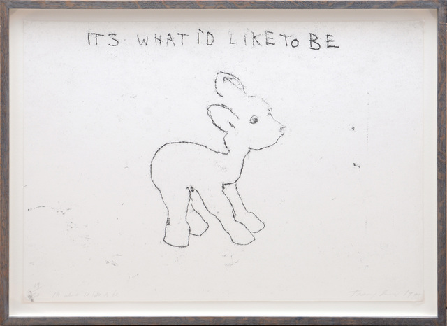 Tracey Emin, 'It's What I'd Like To Be', 1998, Peter Harrington Gallery