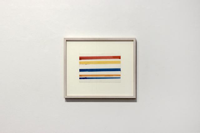 , 'Streifenbild (Striped Picture),' 1965, Josée Bienvenu