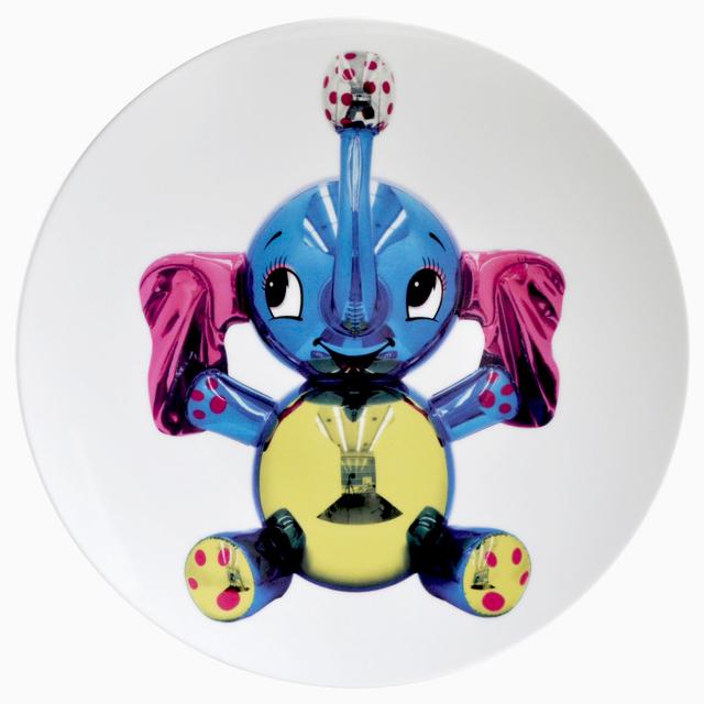 Jeff Koons, 'Elephant Coupe Service Plate', 2014, Artware Editions