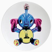 Jeff Koons, Elephant Coupe Service Plate