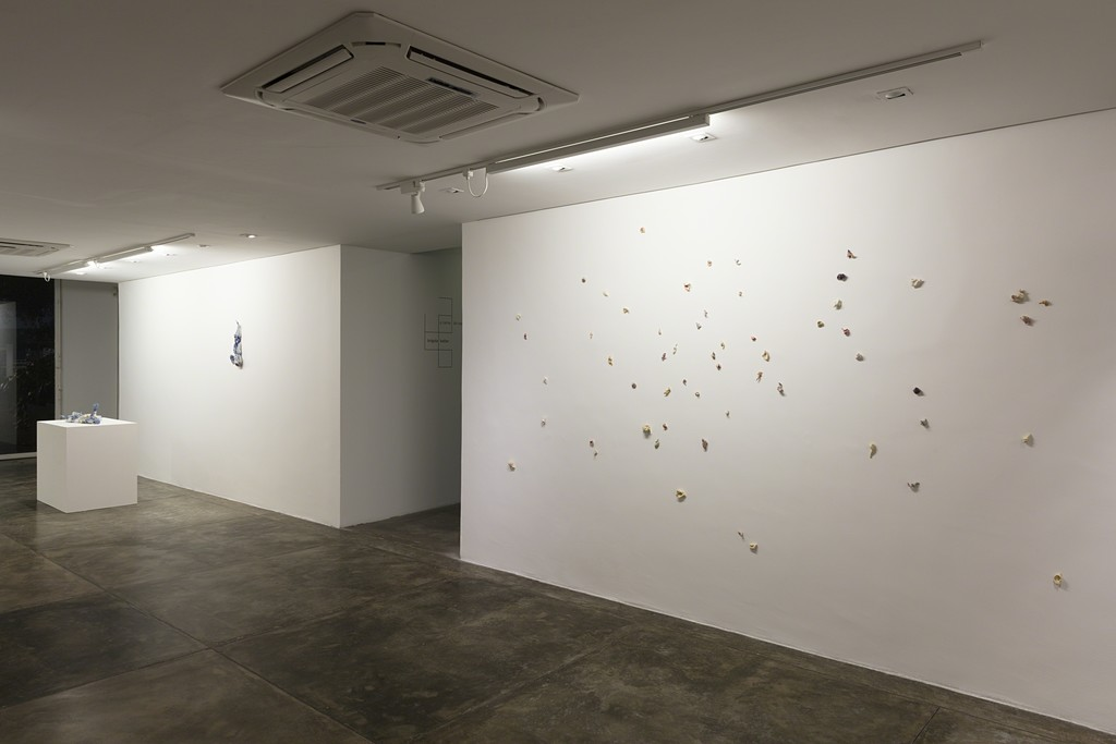 Brígida Baltar -- A Carne do Mar -- exhibition view -- Galeria Nara Roesler | São Paulo, 2018 -- photo Everton Ballardin © courtesy of the artist and Galeria Nara Roesler