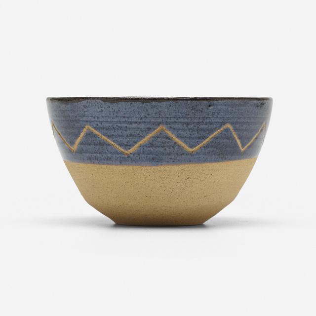 Loloma Pottery, 'bowl', c. 1954, Wright
