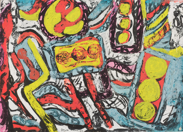 , 'Abstract,' 1947, October Gallery