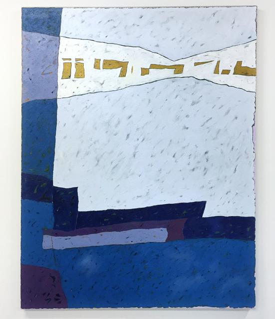 , 'Blue Fog Whistle,' 2016, Galerie Antoine Ertaskiran