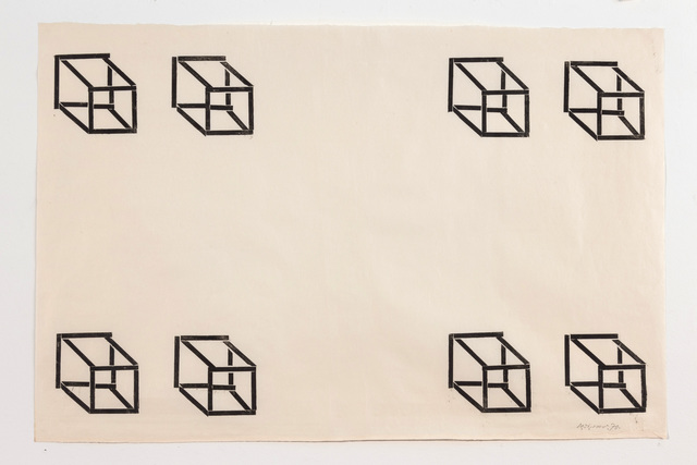, 'Untitled (8 cubes),' 1970, Borzo Gallery