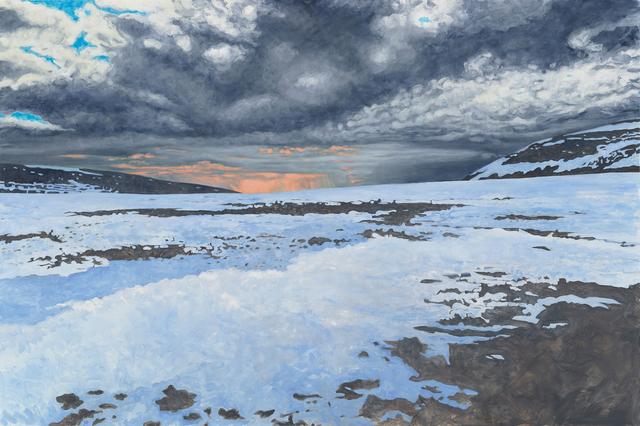 , 'A Snow Field ,' 2016, HATHAWAY | Contemporary Gallery
