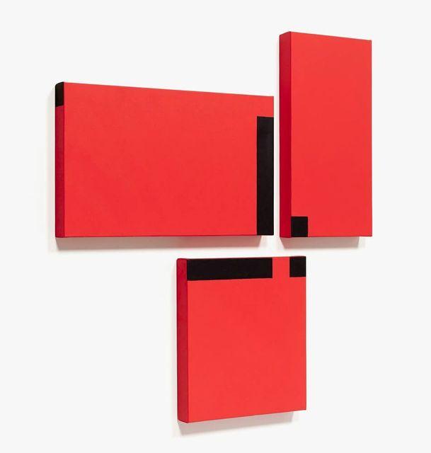 , 'Red Trio #7,' 2015, Leon Tovar Gallery