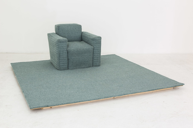 , 'Chair Rug,' 2015, Nina Johnson
