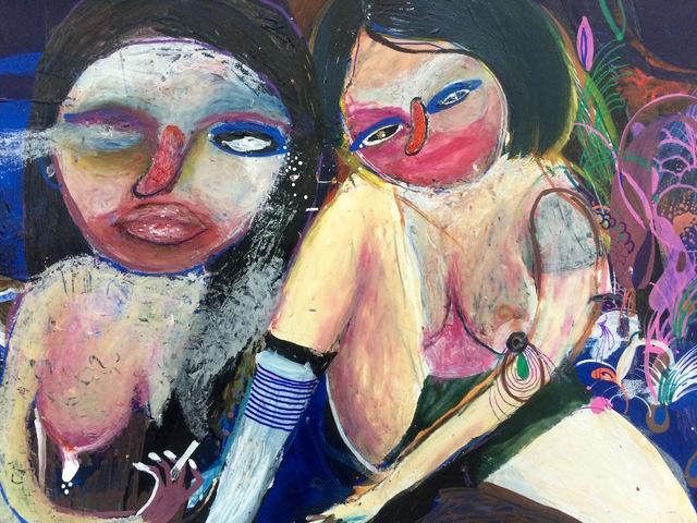 , 'Girls from the Suburbs,' 2016, Robert Kananaj Gallery
