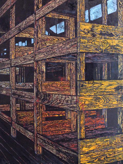 , 'Racks,' 2017, Coagula Curatorial