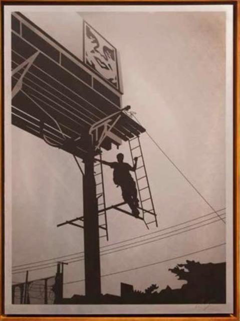 , 'Bayshore Billboard,' 2011, Galerie Ernst Hilger