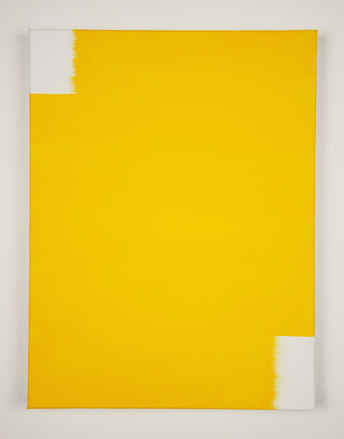 , 'When 2 Directions Become All Directions (Golden Yellow),' 2015, Minus Space
