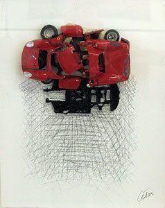 César, 'Ferrari rouge', 1996, Kunzt Gallery