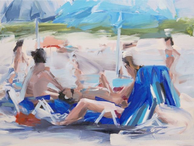 , 'Am See,' 2019, Galerie Barbara von Stechow
