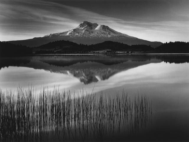 , 'Tule and Mount Shasta ,' 2017, Photography West Gallery