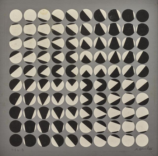 , 'Composition cinétique,' 1959, Galerie A&R Fleury