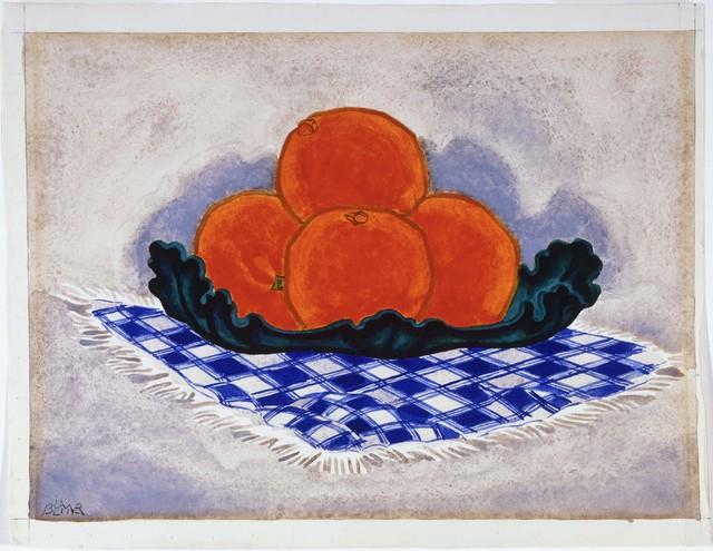 Oscar Bluemner, 'Oranges', Phillips Collection