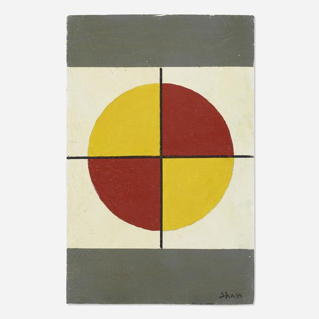 Charles Green Shaw, 'Quartet #8', c. 1970, Wright