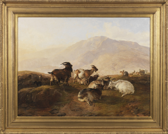 , 'Highland Goates,' ca. 1850, Cross Gate Gallery