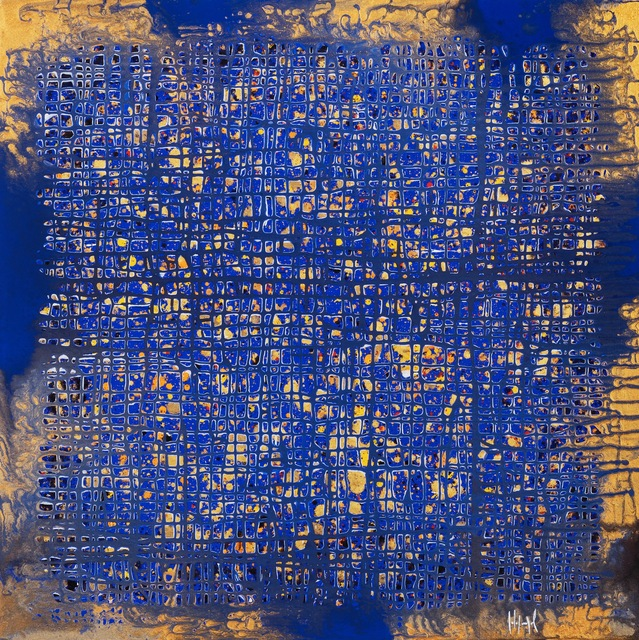 Pierre-Luc Poujol, 'N°381', 2019, Mixed Media, Mixed media on canvas, IDA MÉDICIS Galerie