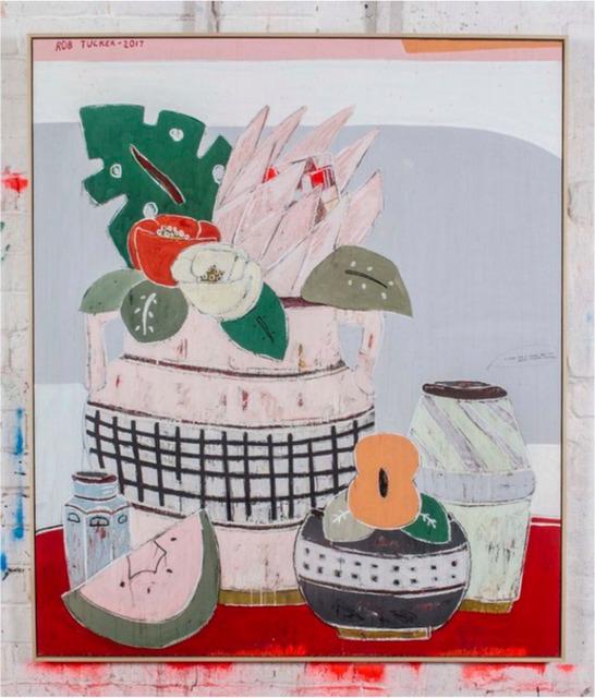Rob Tucker, 'A Study for a Salami and Sun Dried Tomato Salad, 2017-122 x 142 x 4,5 cm', 2017, Artual Gallery