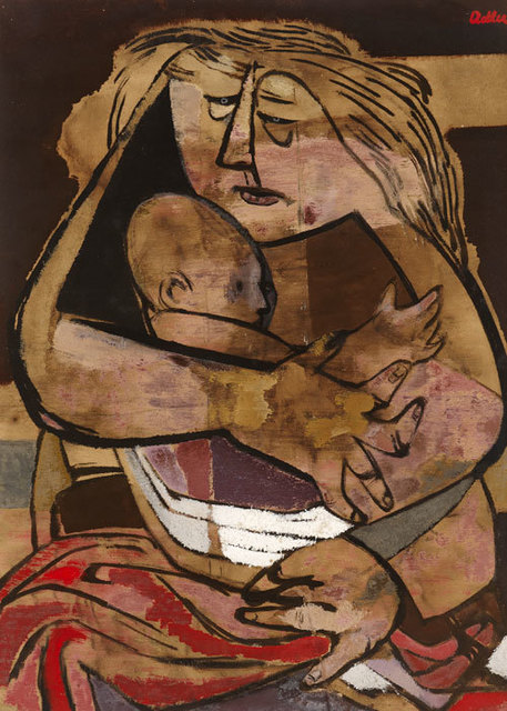 , 'Mother and Child,' ca. 1941, Ben Uri Gallery and Museum