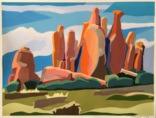 , 'Arches Rocks II,' 2019, Bowery Gallery