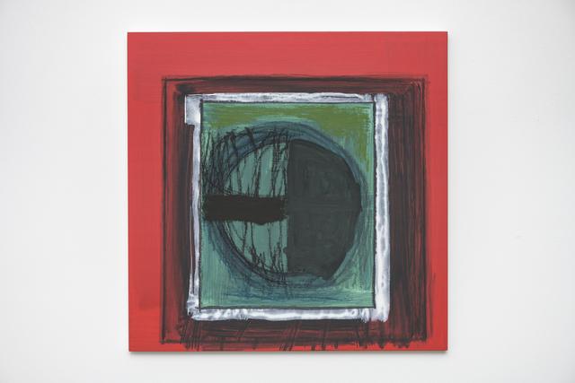Günter Tuzina, 'Neue Generation', 2015, Painting, Acrylic, oil, crayon on wood, Slewe Gallery