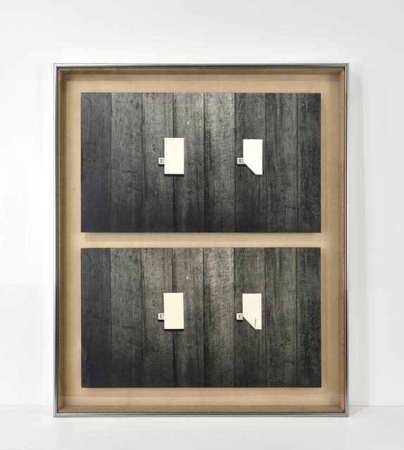 , 'Eraser-75- I / II,' 1975, Galerie Christophe Gaillard