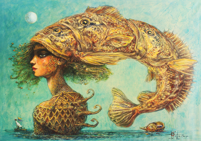 , 'Pescadora (Fisherwoman),' 2018, Arte1010
