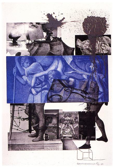 Robert Rauschenberg, 'Bellini #3', 1988, Print, Photogravure on Arches paper, Brooke Alexander, Inc.