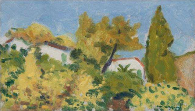Albert Marquet, 'Vue à travers les arbres', ca. 1941, BAILLY GALLERY