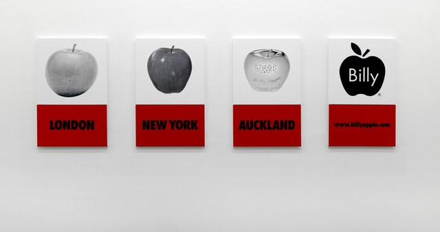 , 'A History of the Brand, London, New York, Auckland, www.billyapple.com,' 2005-2009, Rossi & Rossi